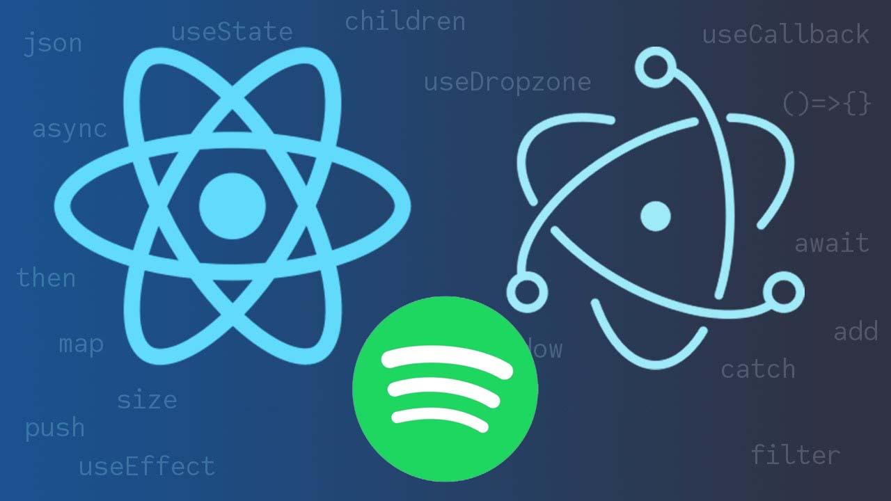 Oferta Itoo: Programa una versión de Spotify usando Electron JS y React JS